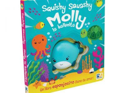 SQUISHY SQUASHY MOLLY LA BALLENITA - NOVELTY