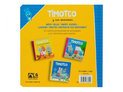 TIMOTEO Y SUS EMOCIONES - NOVELTY