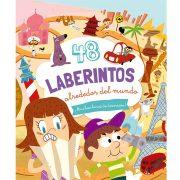 48 LABERINTOS ALREDEDOR DEL MUNDO - V&R EDITORAS