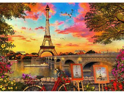 ROMPECABEZAS 1200 PIEZAS PARIS - PINTOO