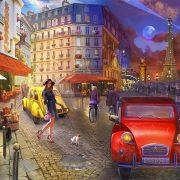 ROMPECABEZAS DE 1000 PIEZAS NOCHE EN PARIS - BUFFALO GAMES