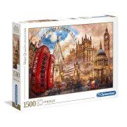 ROMPECABEZAS DE 1500 PIEZAS LONDRES VINTAGE - CLEMENTONI