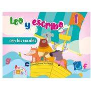 LEO Y ESCRIBO 1 CON LAS VOCALES - LUNA DE PAPEL