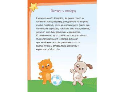 RIVALES Y AMIGOS CUENTOS INFANTILES - LUNA DE PAPEL
