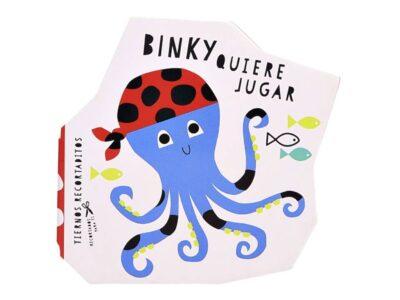 TIERNOS RECORTADITOS BINKY QUIERE JUGAR - NOVELTY