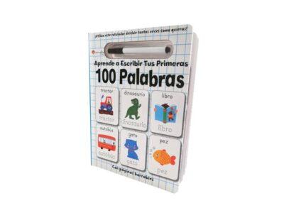 APRENDE A ESCRIBIR TUS PRIMERAS 100 PALABRAS - MANOLITO BOOKS