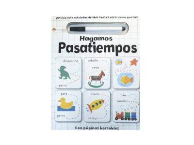 HAGAMOS PASATIEMPOS - MANOLITO BOOKS