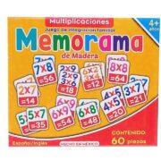 MEMORAMA DE MULTIPLICACIONES