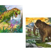 3 ROMPECABEZAS 49 PIEZAS ANIMALES PREHISTÓRICOS - RAVENSBURGER
