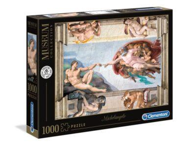 ROMPECABEZAS DE 1000 PIEZAS CREACIÓN DE ADAN - CLEMENTONI